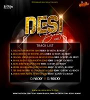 Jhimir Jhimir Paniya Baras Gele Na Khortha Song Remix DJ Vicky x DJ Rocky