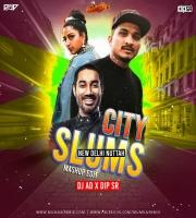 City Slums x New Delhi Nutta Mashup 2021 DJ AD x DIP SR