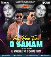 Aaj Hum Tum O Sanam (Retro Remix) Dj Hari surat FT Dj Chirag