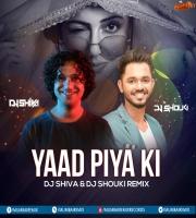 Yaad Piya ki ( Moombahton Mix )  - Dj Shouki x Dj Shiva