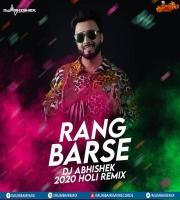 RANG BARSE - DJ ABHISHEK 2020 HOLI REMIX