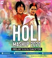 Holi Mashup 2020 - DJ G x DJ Dackton