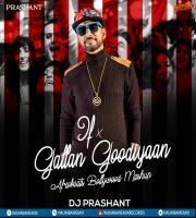 Gallan Goodiyan vs If - DJ Prashant Mashup - AfroDesiac