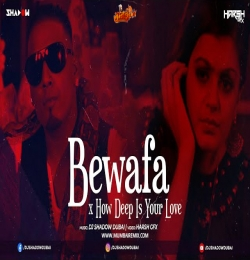Bewafa x How Deep is Your Love Remix DJ Shadow Dubai
