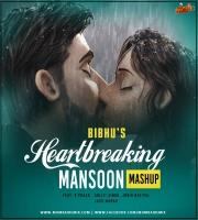 Hearbreak  Monsoon Mashup 2020- Dj Bibhu Mix