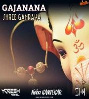 Gajanana Shri Ganraya (Cover) - Yogesh Patel Ft.Neha Kamtekar
